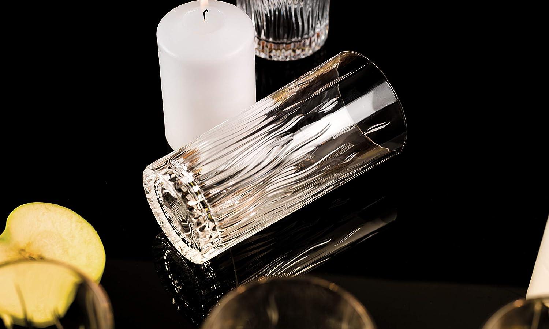 Trasparente RCR Cristalleria Italiana Fire Bicchieri Bibita 370 milliliters Vetro