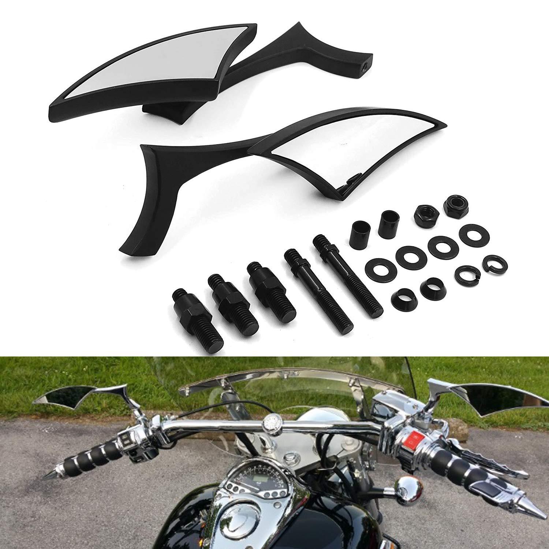Amazon.com: cromado Blade Mini Espejo Para Honda Rebel ...