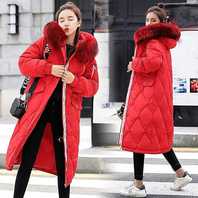 Chaqueta de Abrigo para Mujer, Abrigo de Piel de imitación de Invierno para