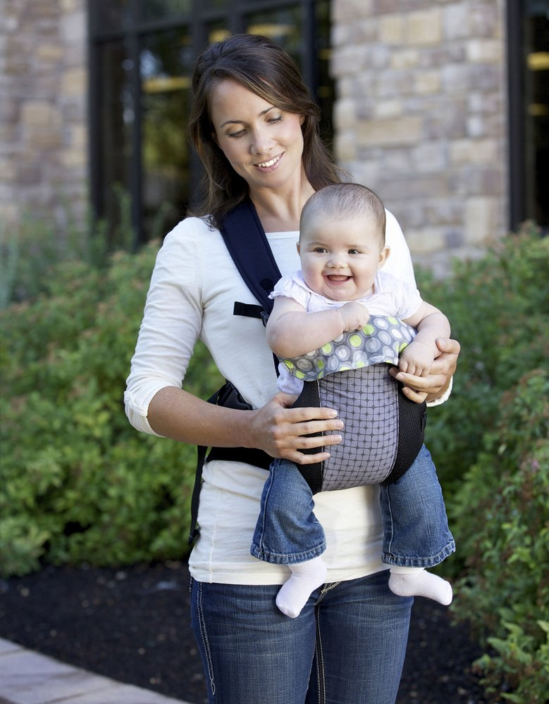 80a5dfbe7d7 Amazon.com   Fleurville 3-position Comfort Infant Carrier (Gray Green)    Child Carrier Front Packs   Baby