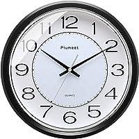 Plumeet Reloj de Pared Silencioso, Reloj de Cuarzo