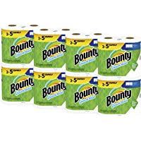 Deals on Bounty Quick-Size Paper Towels 16 Family Rolls