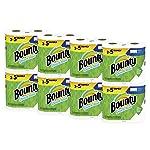 Bounty toallas de papel de tamaño rápido, blanco, rollos familiares, 16 unidades (equivalente a 40 rollos regulares)