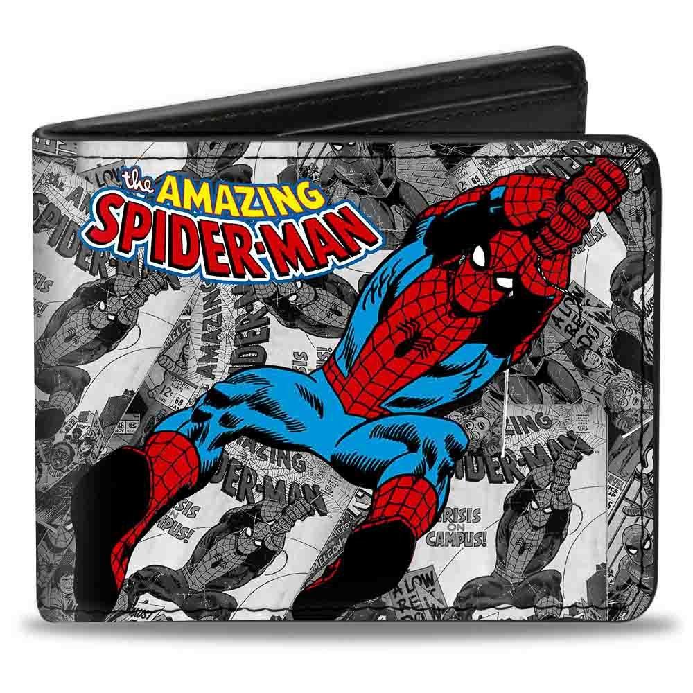 Amazon.com: buckle-down cartera de Marvel Comics The Amazing ...