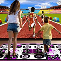 Plug and Play Sense Game for PC TV Multi-Function Games /& Levels 123Y Double User Dance Mat for Kids Adults Wireless Non-Slip Somatosensory Soft Dancer Step Pads with Music