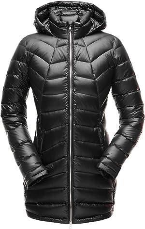 Spyder Women's Syrround Long Down Jacket