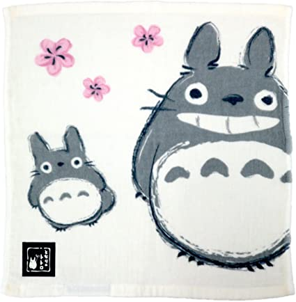 e23b4e4ed Marushin My Neighbor Totoro Imabari Gauze Towel(Spring breeze and Totoro)  made in Japan: Amazon.co.uk: Kitchen & Home