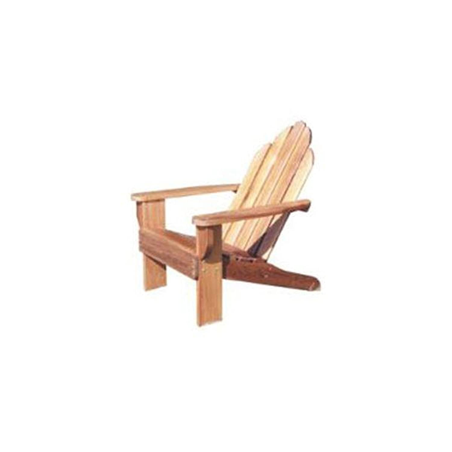 Classic Adirondack Chair Plans Woodworking Project Paper Plan