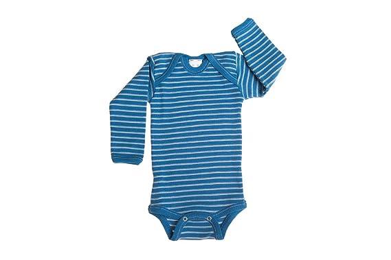 Amazon Com Hocosa Organic Merino Wool Snap Bottom Shirt Long