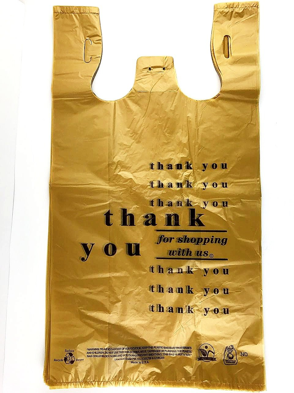 想像を超えての Large Plastic Grocery Thank T-shirts B01MTG3AGM Carry-out X Bag Plain White 12 X 6 X 21 100ct, by Royal B01MTG3AGM Thank you BR Thank you BR|1000, e-BRAND:2ded8128 --- adornedu.com