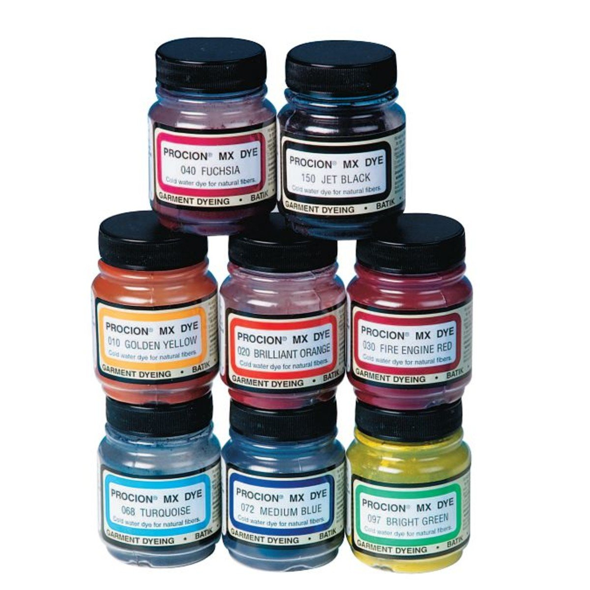 Amazon.com: Cold Water Dye, 2/3 oz., Asst. Colors (set of 8 ...