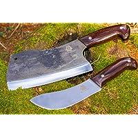 Valhalla SXLP-PMX278 Set de fléchettes Dellinger NORRA D2 Butcher – D2 Acier & Acier Carbone & Manche Ergonomique Wenge
