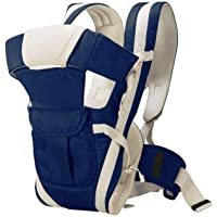 Nagar International Soft Baby Carrier Blue 4 in 1 Position with Comfortable Head Support & Buckle Straps