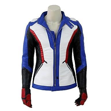 b67355218 Kidcos Men's Soldier 76 Cosplay Costume Jacket Coat