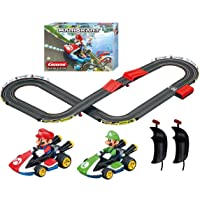 Carrera GO!!! 63503 Official Licensed Mario Kart Battery Operated 1:43 Scale Slot Car Racing Toy Track Set with Jump…