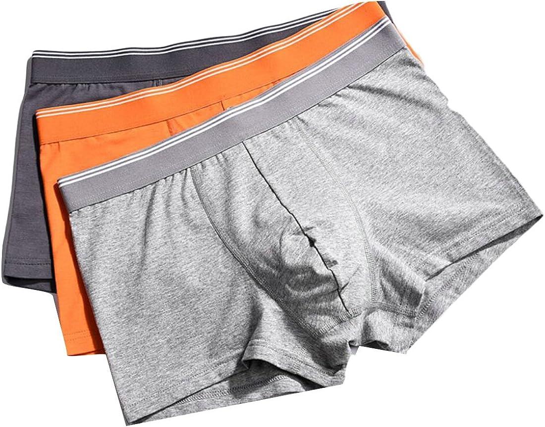 S-Fly Mens Cotton Short Leg Multipack Underwear Breathable Pouch Boxer Briefs