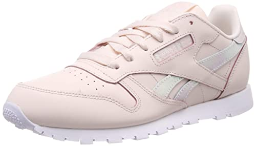 Reebok Classic Leather, Zapatillas para Niñas, Rosa Pale