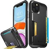 Vena iPhone 11 Pro Card Case, vSkin Slim Wallet Case with Credit Card Holder Slot Kickstand, Designed for iPhone 11 Pro - Black