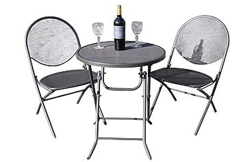 Cambridge Garden - Juego de 2 sillas Plegables de Malla y ...