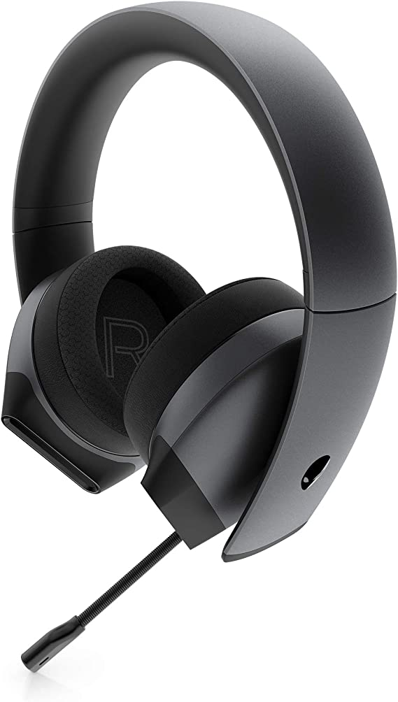 Alienware 7.1 PC Gaming Headset AW510H-Dark: 50mm Hi-Res Drivers - Noise Cancelling Mic - Multi Platform Compatible(PS4