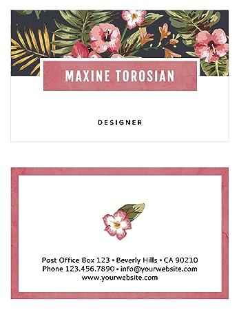 Blossom Custom Visitenkarten By Luxx Design