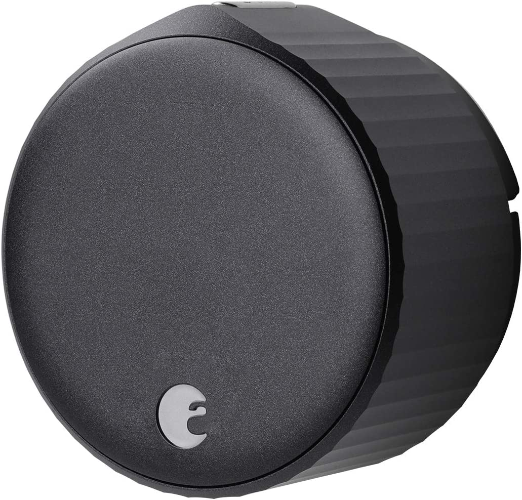 August Wi-Fi Smart Lock (Newest Model 4th Gen) - Alexa, Google Assistant, Home Kit, SmartThings and Airbnb Compatible - Upgrade Your Deadbolt – Matte Black