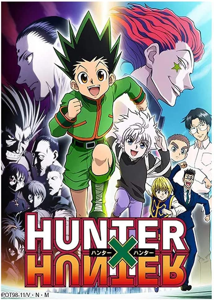 S-20 x 30 cm XUNMOWEI Anime Hunter X Hunter Group Poster mural /à suspendre Peintures artistiques