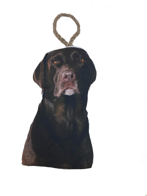 Labrador Dog Shaped Polyester//Sand Door Stop 10.62