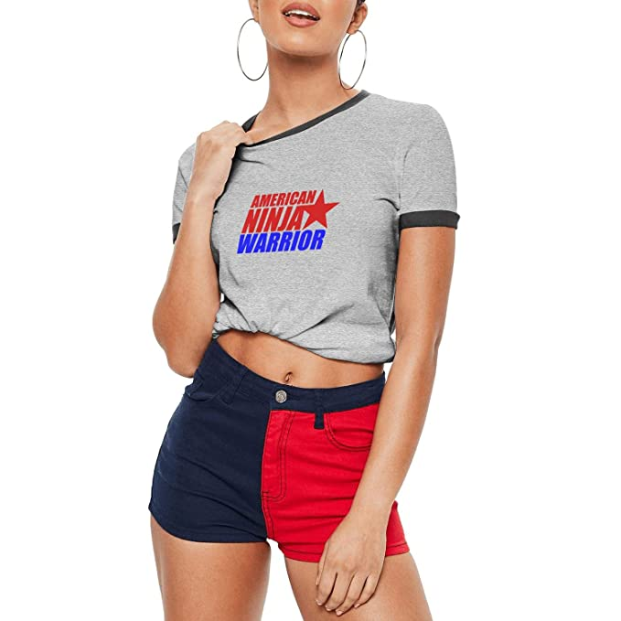 Amazon.com: American-Ninja-Warrior-Logos- Girls Awesome ...
