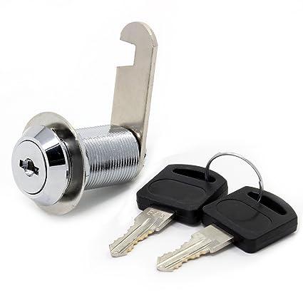 Cerradura de seguridad para buzón de acero inoxidable, armario, etc. con llaves similares