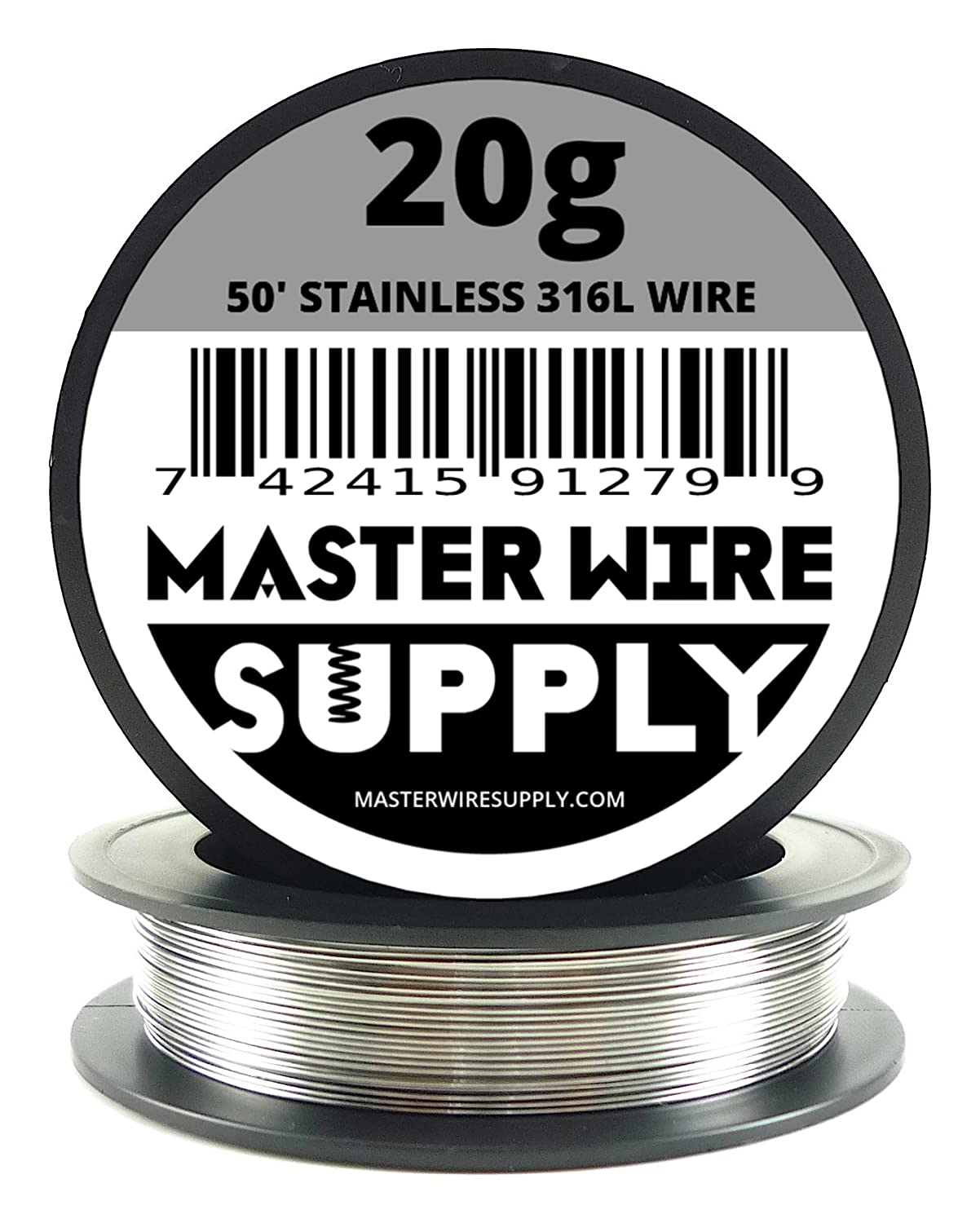 Stainless Steel 316L - 50' - 20 Gauge Wire Master Wire Supply 4336834430