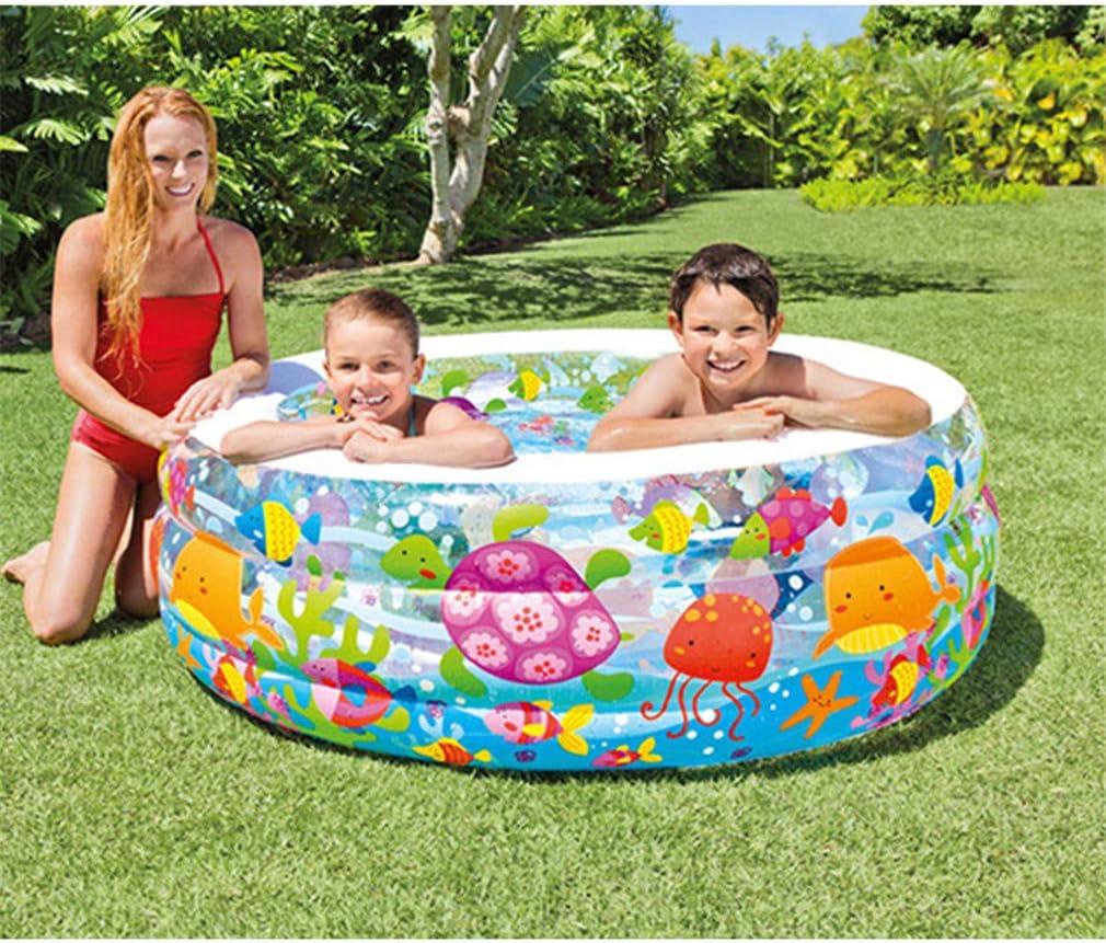 YAOXI Familia Inflable Nadando Piscina, Interior Caliente Primavera Piscina Retirable Al Aire Libre Nadar Piscina para Niños El Plastico Oceano Pelotas Piscina Nadando Quinielas Adultos