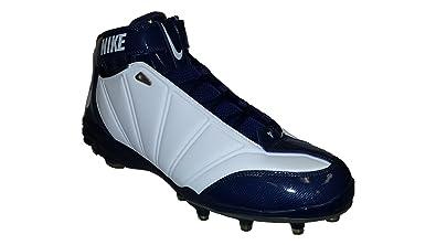 uk availability 93fad e2c43 Nike Zoom Super Bad II TD Men s Football Cleats (13, White White-