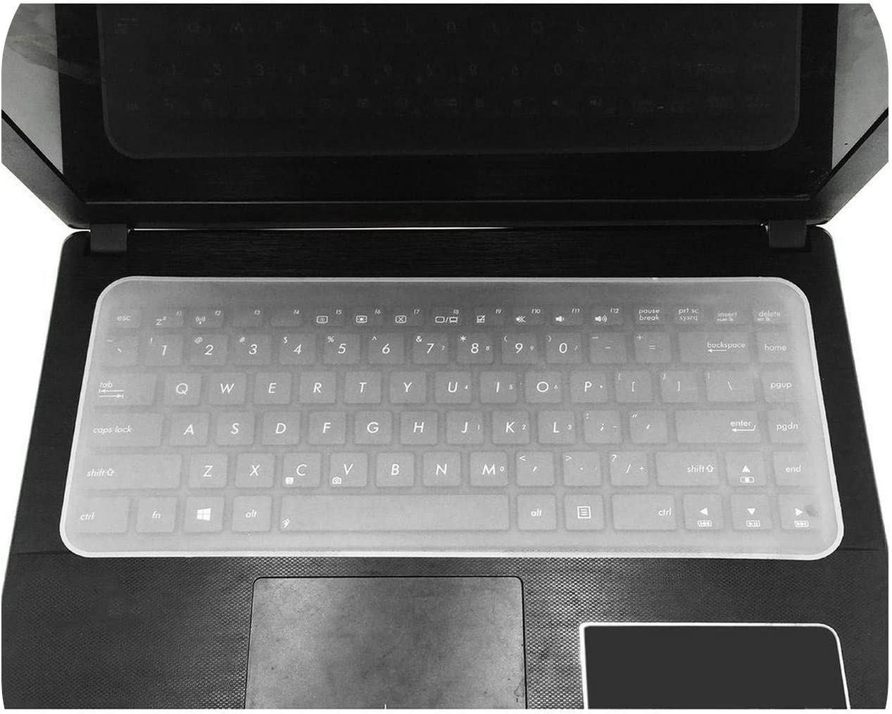 Waterproof Dustproof Tablet Keyboard Protector Guard for 13 17 Inch Notebook -One/_Color Keyboard Cover Skin Silicone Film