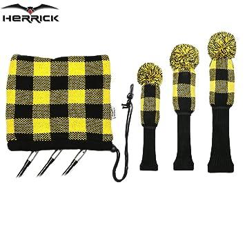 Nueva palos de golf fairway madera lana para tejer fundas ...