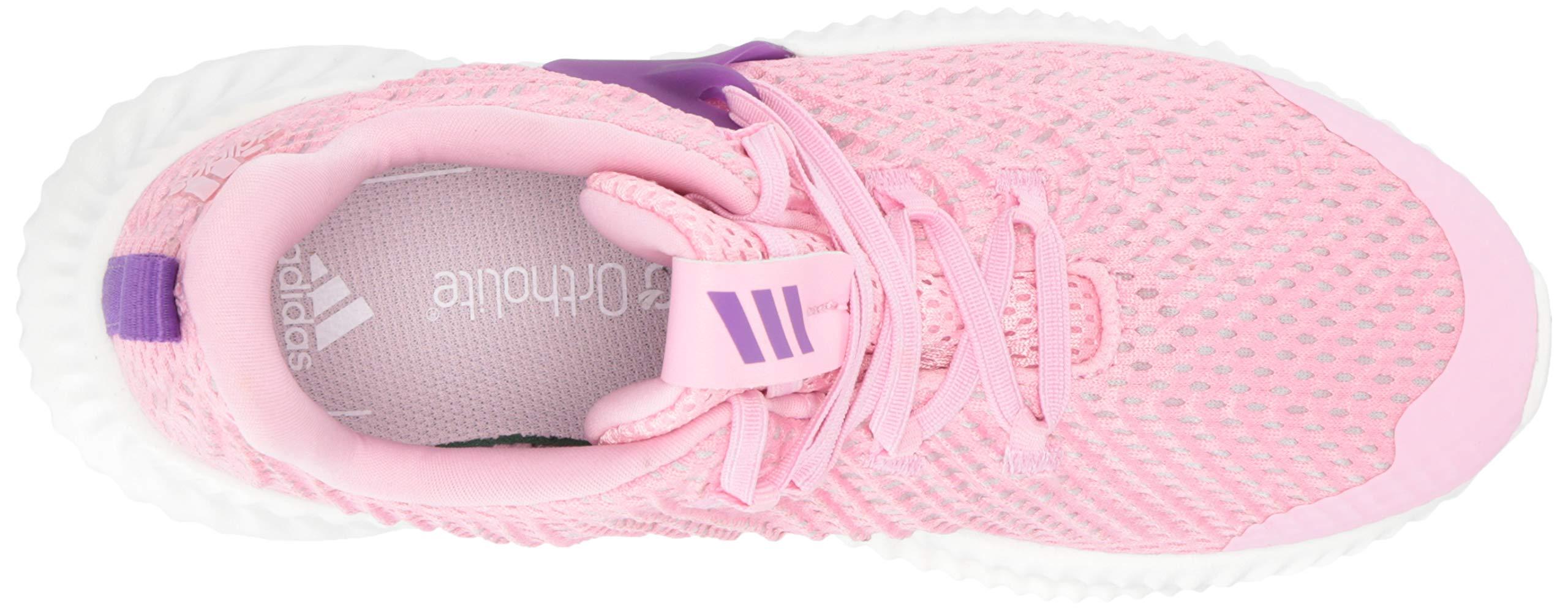 Adidas Kids Alphabounce Instinct, true pink/active purple/cloud white 2.5 M US Little Kid by adidas (Image #8)