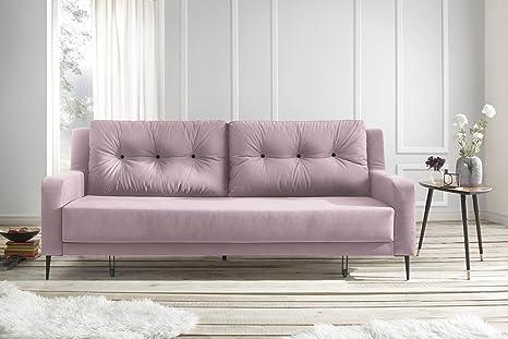 Divano Color Rosa Antico : Bobochic bergen divano di coperti convertibile tessuto rosa