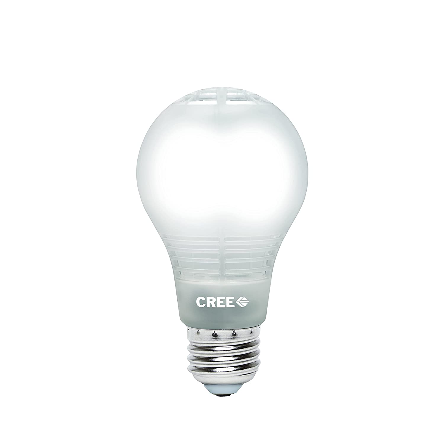 Cree 60w equivalent daylight 5000k a19 dimmable led light bulb cree 60w equivalent daylight 5000k a19 dimmable led light bulb with 4flow filament design amazon arubaitofo Images
