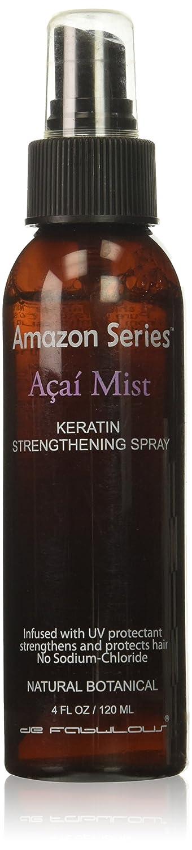 Amazon Series Acai Mist Keraton Strengthening Hair Treatment Spray, 4 Ounce