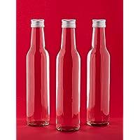 20 botellas vacías de vidrio 250ml slkfactory