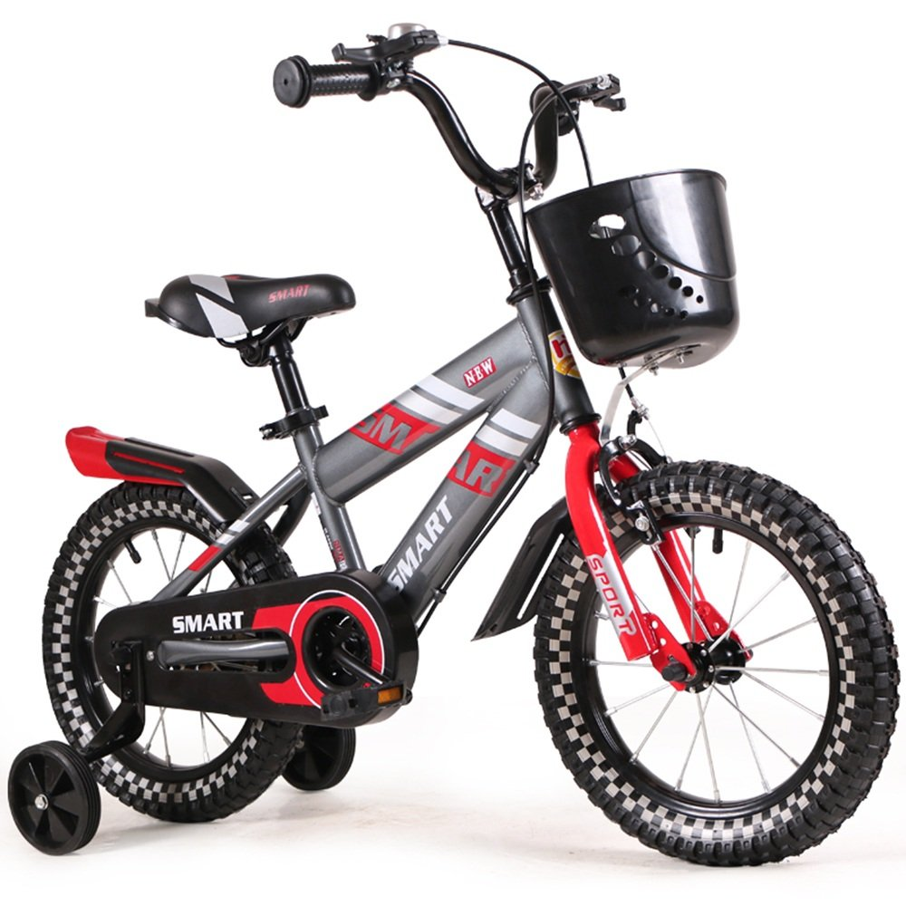 HAIZHEN マウンテンバイク 子供用自転車 青赤 サイズ:12インチ、14インチ、16インチ アウトドアアウト 新生児 B07C6R7C5R 14 inch|赤 赤 14 inch