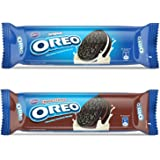 Oreo Cadbury Creme Biscuit Combo 1200g (Vanilla X 5 Units + Chocolate X 5 Units)