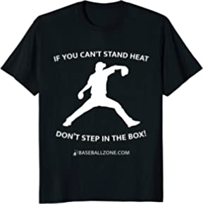 Pitcher Throwing Heat T-Shirt