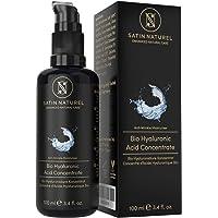 Serum Facial de Acido Hialuronico Puro orgánico - 100ml - Altamente Dosificado y Vegano con Aloe Vera – Uso con Crema…