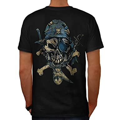 Back To Search Resultsmen's Clothing T-shirts Gas Mask Skull Mens Black T Shirt Carefully Selected Materials