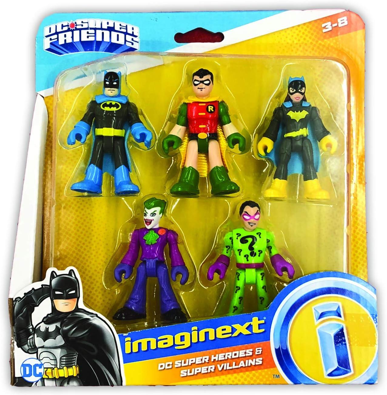 Imaginext DC SUPERAMICI FRECCIA VERDE Fisher Price Action figure nuovo giocattolo