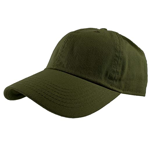 f17e3294 Baseball Caps Dad Hats 100% Cotton Polo Style Plain Blank Adjustable Size.  1835-