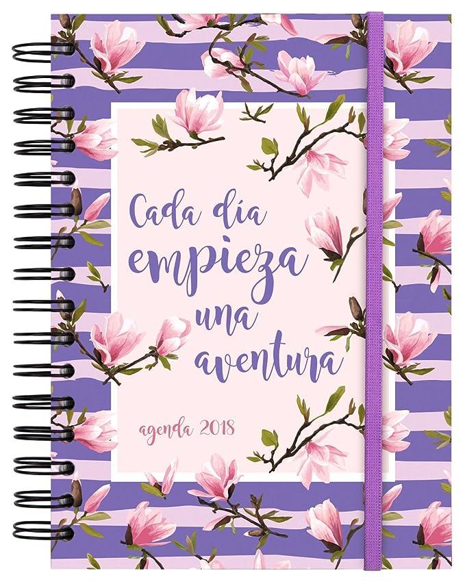 Finocam Doble Espiral You - Agenda 2018, día página, diseño Aventura, español, 155 x 215 mm, 70 g/m²
