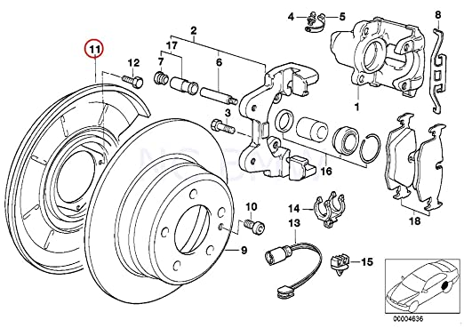 Amazon Com Bmw Genuine Protection Plate Right Automotive