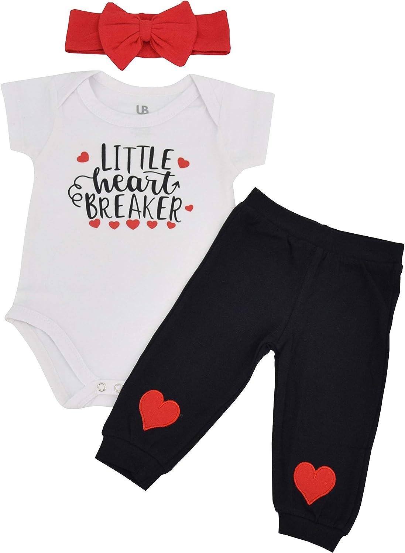 Unique Baby Girl Little Heartbreaker Valentines Day Layette Headband